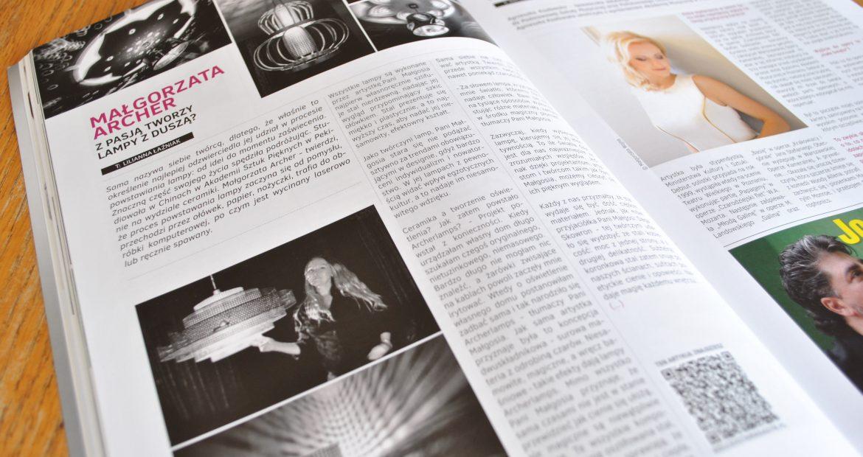 Archerlamps in Dolce Vita magazine