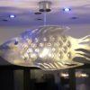 Ceiling Light COD FISH Unique Design, Steel Archerlamps