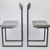 Chair TianAnMen GREY VELVET Archerlamps