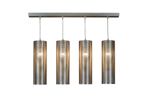 Modern Geometric Lamp, Ceiling Light WINDCHIMES