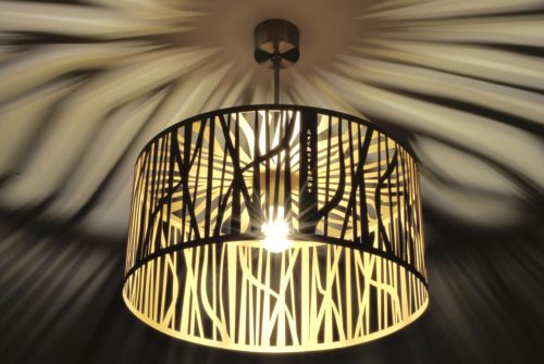 Modern Lamp, Ceiling Light GOLD FOREST