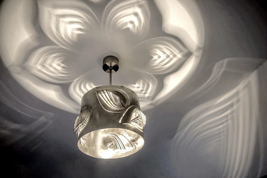 Modern Lamp, Unusual Design, Ceiling Light LEAVES Archerlamps