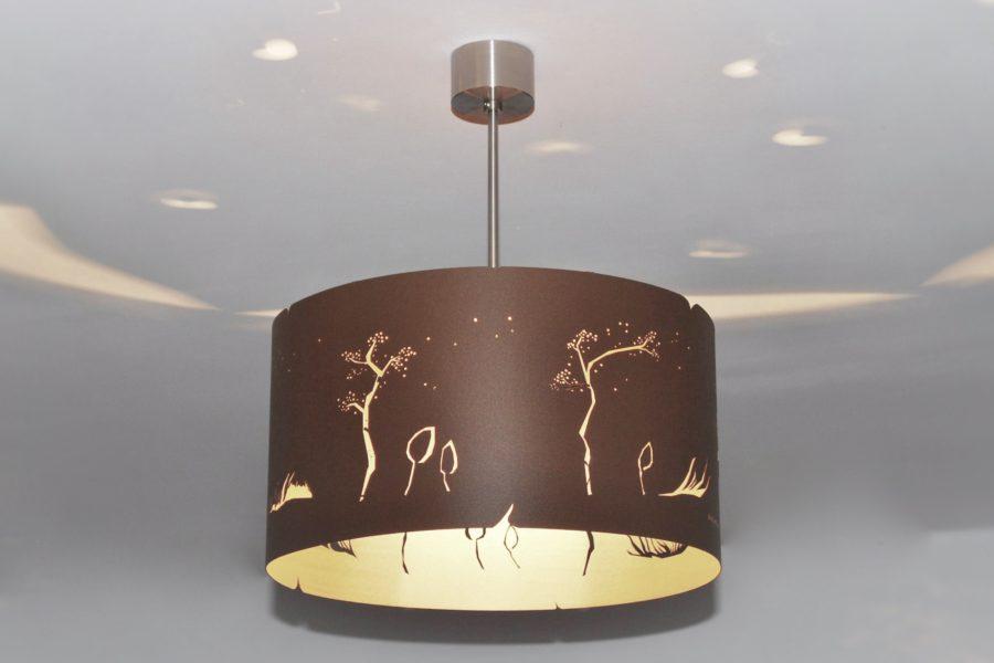 Modern Lamp, unusual design, ceiling light WIND