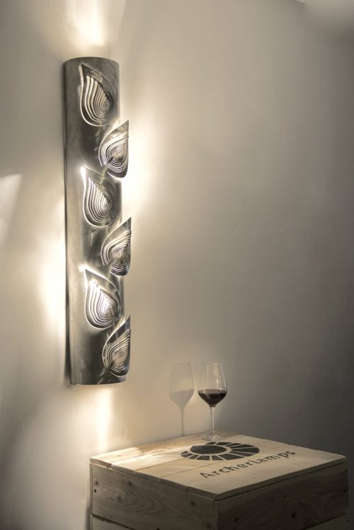 Modern Lamp, Unusual Design, Wall Light LEAVES