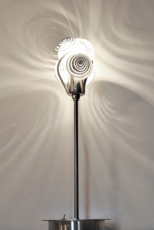 Modern Lamp, unusual table lamp SPIRALS - Archerlamps