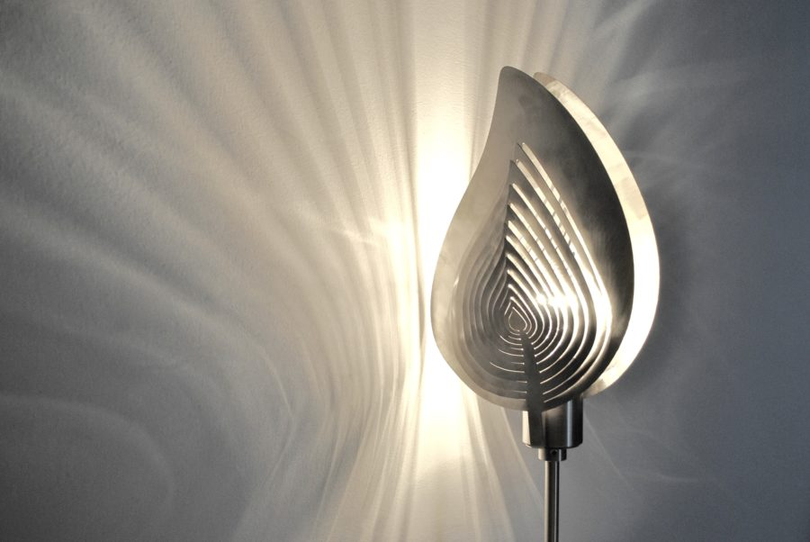 Modern Lamp, Unusual Table Lamp SPRING