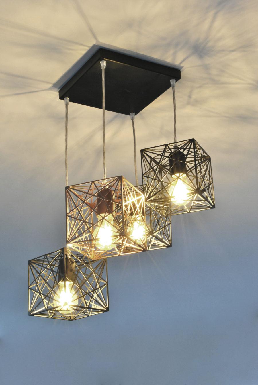 Modern Ceiling Lamp MYSTIC ROSE 4Q