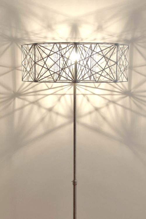 Modern floor lamp MYSTIC ROSE