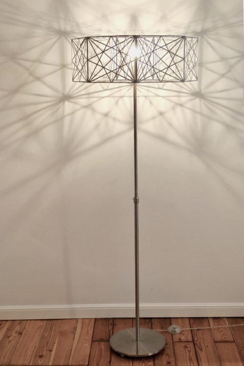 Mystic Rose Floor Lamp