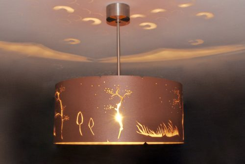 chandelier lamps COPPER WIND