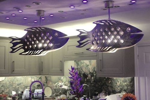 Designer Lamps Fish