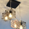 Geometric Modern Ceiling Lamp MYSTIC ROSE 4Q