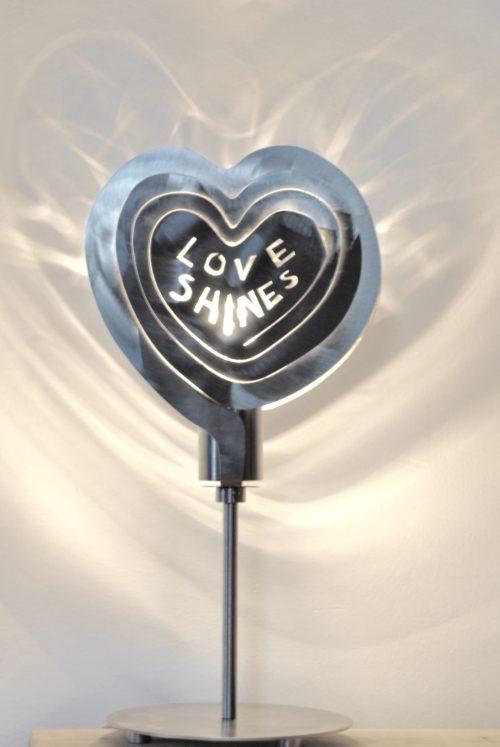 Love Shines Modern Lamp